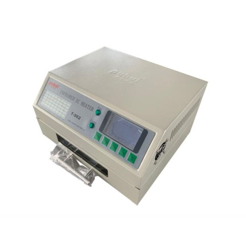 T 962 110V/220V 800W Desktop Reflow Oven Infrared IC Heater Soldering Machine 800W 180 x 235mm T962 for BGA SMD SMT Rework-in Electric Soldering Irons from Tools    2