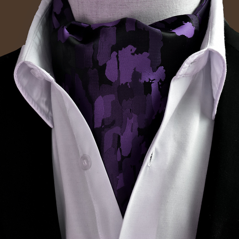 20 Styles 2019 Fashion Men Vintage Polyester Silk Print Paisley Scarf Polka Dot Scarves England Jacquard Weave Neck Ties Wedding in Men 39 s Scarves from Apparel Accessories