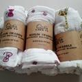 Baby muslin blankets  baby swaddle envelope for newborns wrap Muslin Swaddle Black White infant parisarc Hero Mask Cross