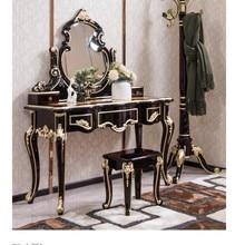 Белый Европейский зеркальный стол комод французская мебель для спальни DN855