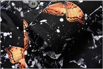 Mens Party Banquet 2 Pieces Suit (Jacket+Pants) 2019 Fashion 3D Butterfly Print Suit Men Wedding Prom Suits Terno Masculino 4XL