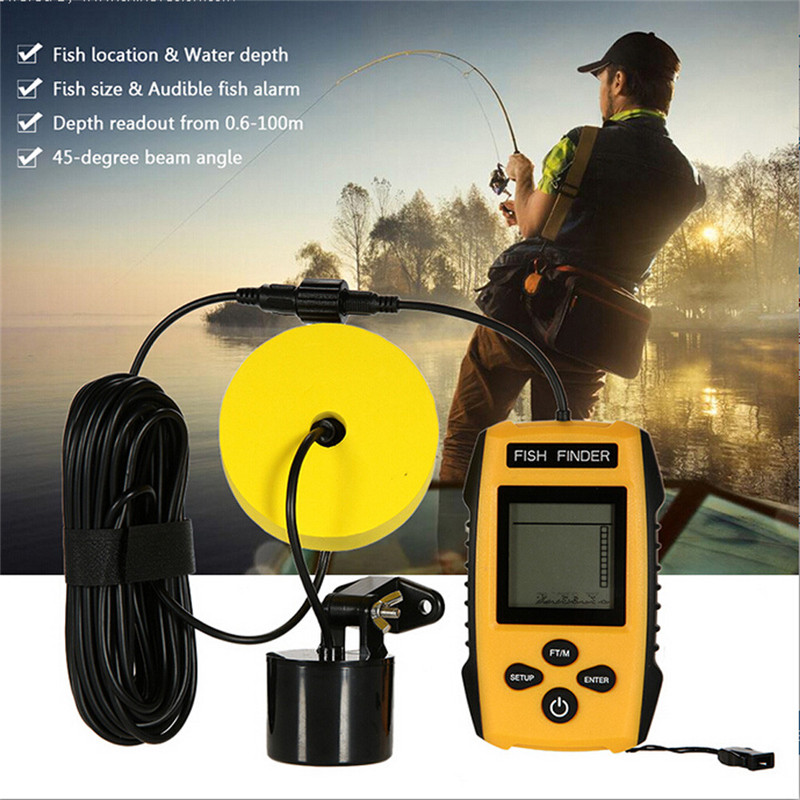 Fishing Accessories Portable Fish Finder Sonar Technology