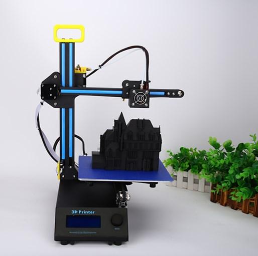 HIC Reprap Prusa I3 3D Printer LCD 1.75mm 210x210x210mm Aluminum Frame Desktop