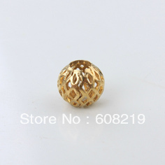 jewelry Raw brass beads copper rounds spacer beads 10*4.5mm 2000pcs filigree