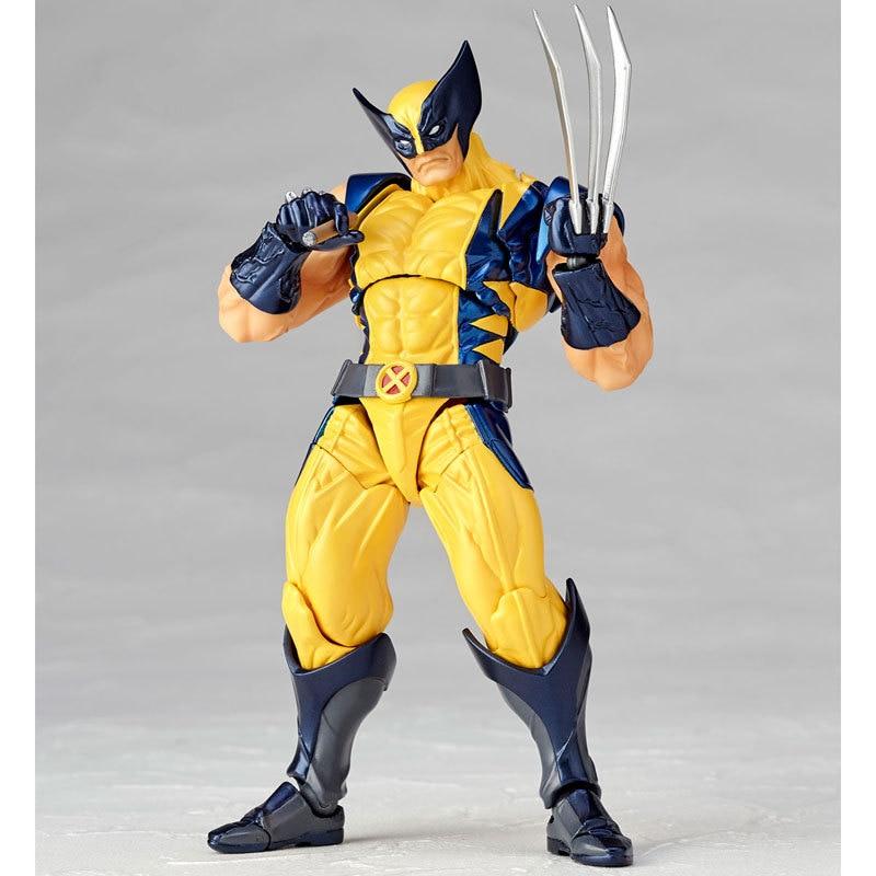 Disney Marvel X-Men 16cm Origins Wolverine Logan Action Figure PVC Posture Model Anime Decoration Collection Figurine Toys model high quality 16cm pvc model x men wolverine james howlett logan howlett action figure doll model toy children gift