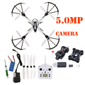JJRC H16 Tarantula X6 Wide Angle 3D Stunt Quadcopter with 5MP Camera With IOC RC Drone Remote Control Helicopter Blue&White