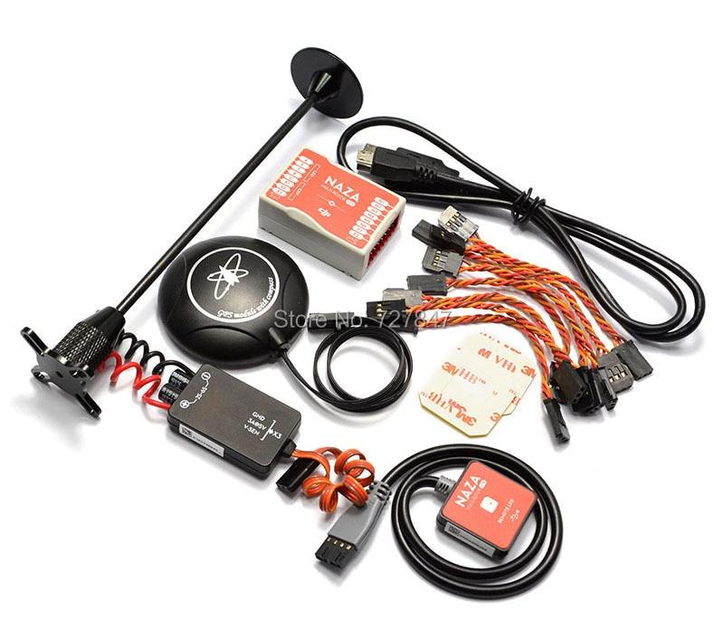 Naza М Lite нескольких Flyer Версия полета Управление Лер w/ГУП Мощность Модуль и светодиодный и Кабели и m8n GPS и подставка держатель