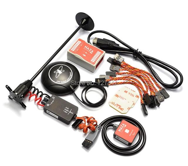 Naza M Lite de Flyer versión de Control de vuelo controlador w/PMU módulo de alimentación de LED y Cables y M8N soporte GPS y soporte