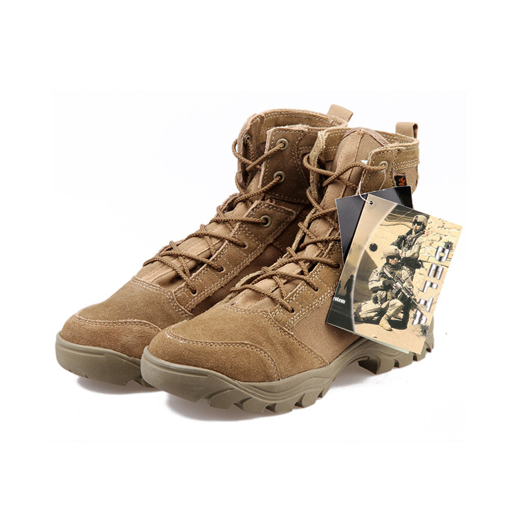 Men&39s Lace Up Breathable A TACS DESERT Hiking boots Army Military