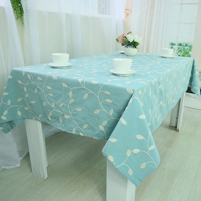 Table Cloth Leaf High Quality Dinner Tablecloth Decorative Elegant Table  Cloth Linen Table Cover