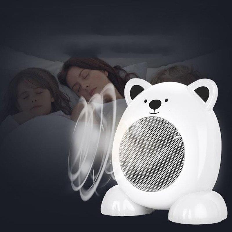 Cartoon Shape Mini Fan Heater Stove Hand Warmer Desktop Household Electric Heater Fast Heater Warm Winter Small Heater