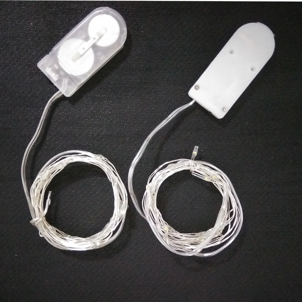 2m 20Leds Button Battery Led String Light Holiday Light For Wedding ...
