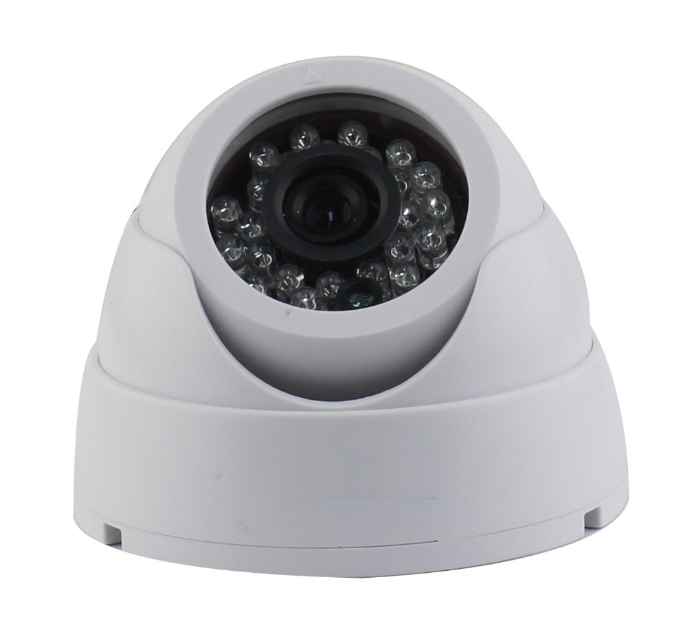 24leds IR indoor HD 960H Security CCTV Dome Camera with IR-CUT Surveillance Camera Free Shipping hkes wholesale 8pcs lot free shipping indoor ir dome ip camera with microphone