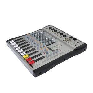 Image 4 - Freeboss MX 600 6ch Mono 6 kanallar iyi kalite sıcak satış USB profesyonel ses dj mikseri