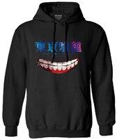 Tokyo Ghoul Printed Hot Anime Tokyo Ghoul Sweatshirt Man Clothes Ken Kaneki Long Sleeve Brand 2016