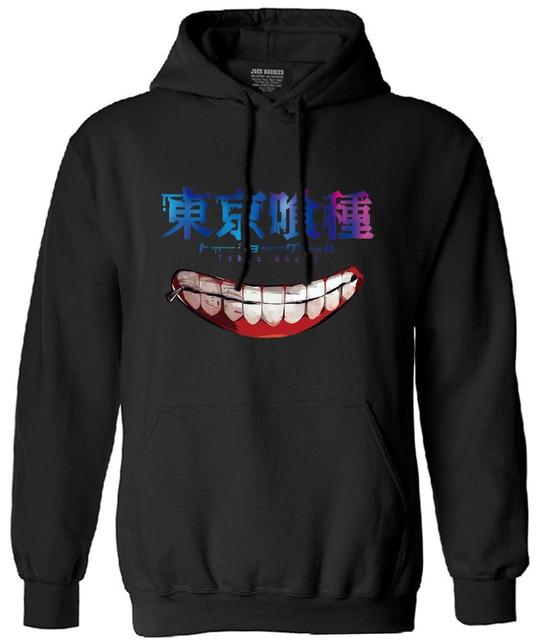 Tokyo Ghoul Men Long-Sleeve Sweatshirt