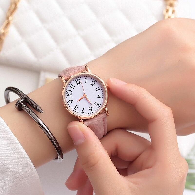 Fashion Kids Quartz Wrist Watch Children Watches Leather Strap Teen WristWatch Gift Girls Boys Bracelet Clock Relogio Infantil