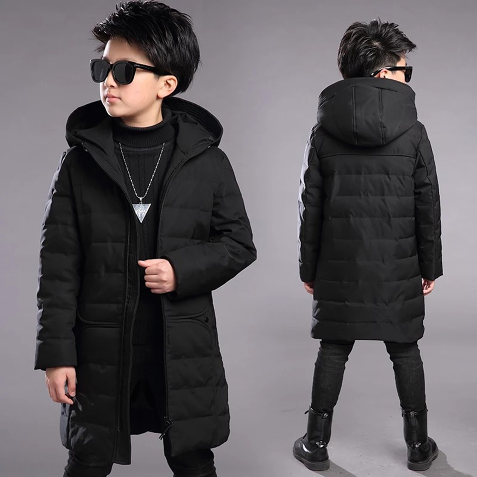 NEW Children Outerwear Coat High Quality Winter Baby Boys Cotton Coat 3-13 Yrs Warm Baby Boys Thick Parkas Kids Hooded Clothes недорго, оригинальная цена
