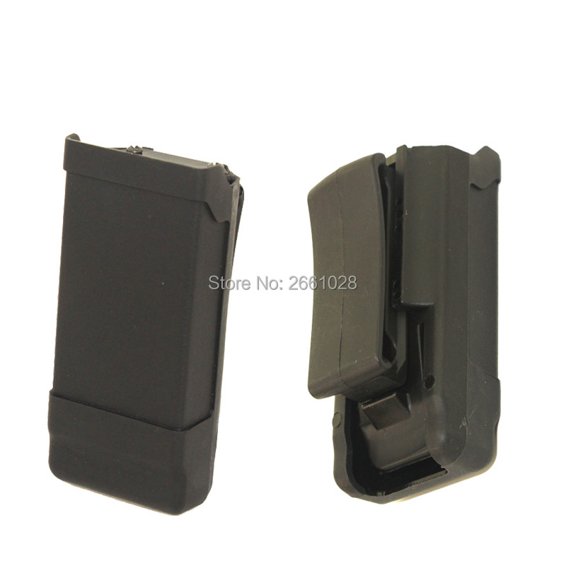 Quick Draw 40 Single Magazine Pouch Case Belt Clip Holder Duty Extraordinary Duty Belt Magazine Holder