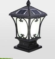 LED lamp post household Outdoor Light solar energy outdoor wall garden waterproof light