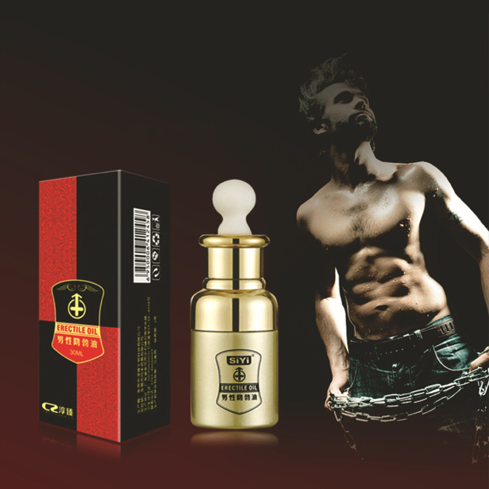 30ML Erectile Oil Sex Desire Liquid Premature Ejaculation Treatment Oil Erectile Dysfunction Product Increase Sex Time For Men(China)