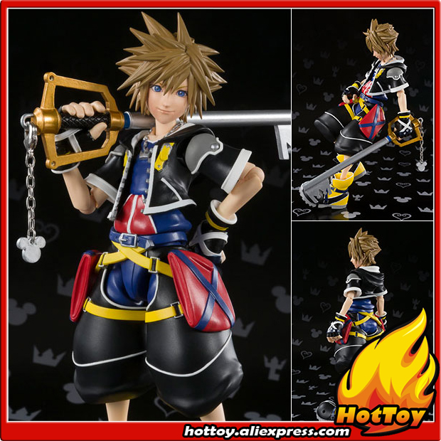 100% Original BANDAI Tamashii Nations S.H.Figuarts (SHF) Action Figure - Sora from Kingdom Hearts II
