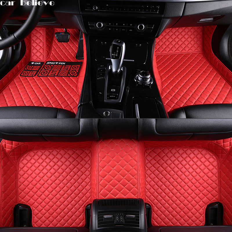 Car Believe Auto car floor Foot mat For opel antara astra k zafira tourer car accessories waterproof carpet rugs floor liners custom car floor mats for opel astra insignia vectra antara zafira accessories car styling floor mat