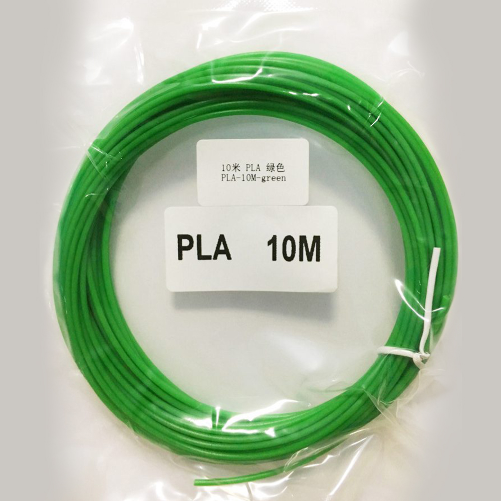 3D Printer Filament 10M PLA 1.75 Threads Wire Birthday Gift 3D Pen Plastic PLA filament for 3D Pen 3D Filament PLA 2Pcs/Set tronxy 1 75mm pla filament for 3d printer