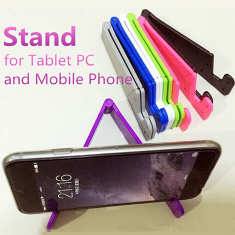Universal Foldable Mobile Cell Phone Stand Holder for Smartphone & Tablet Samsung Adjustable Support Phone Holder