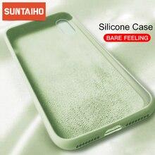 Original Liquid Silicone Cases For iPhone