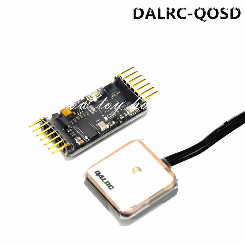 DALRC QOSD  On-Screen-Display  Quadcopter FPV A/V Transmitting Module Remote Control GPS DIY Package for RC Aerial amy winehouse lioness – hidden treasures cd