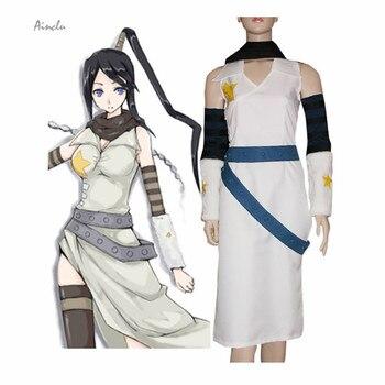 Disfraz personalizado para adultos Soul Eater Tsubaki Nakatsukasa, disfraz de Halloween, Cosplay gratis para disfraz de adulto