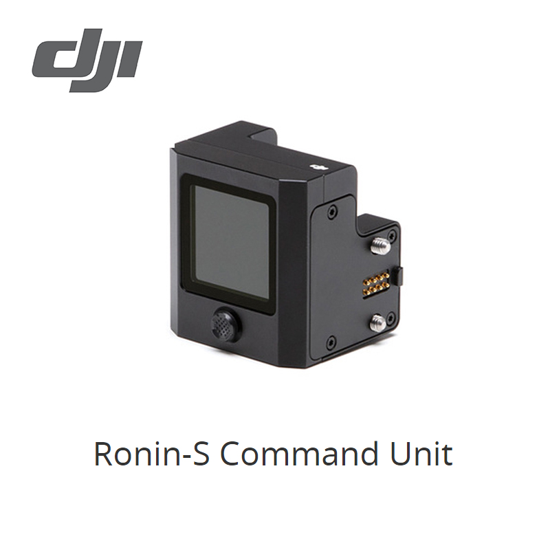 DJI Ronin S Command Unit enables users to set parameters and control the Ronin S during