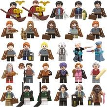 NEW Toy lot mini Figures Harri Potter Dumbledore Building Blocks Plastic Christmas Gifts Toys Bricks Collection Set for Children