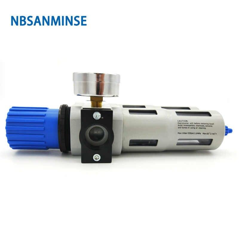 Mdurian Separador de Agua Reductor de presi/ón Regulador de Aire comprimido para compresor comprimido Filtro 1//4 Humedad Aceite Agua Lubricador Procesador de Gas