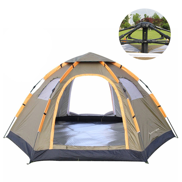Wnnideo Instant Family Tent 6 Person Large Automatic Pop Up Waterproof for Outdoor Sun shelter C&ing  sc 1 st  AliExpress.com & Aliexpress.com : Buy Wnnideo Instant Family Tent 6 Person Large ...