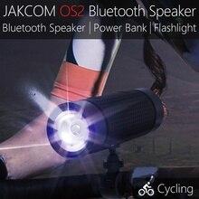 Jakcom OS2 портативный беспроводной bluetooth-динамик Открытый водонепроницаемый велосипед спикер с PowerBank фонарик Поддержка TF AUX FM