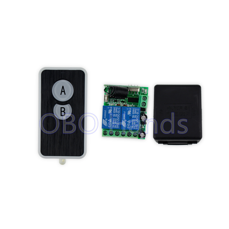 12v wireless remote control for electric door lock can control 2 doors up to 50msl321