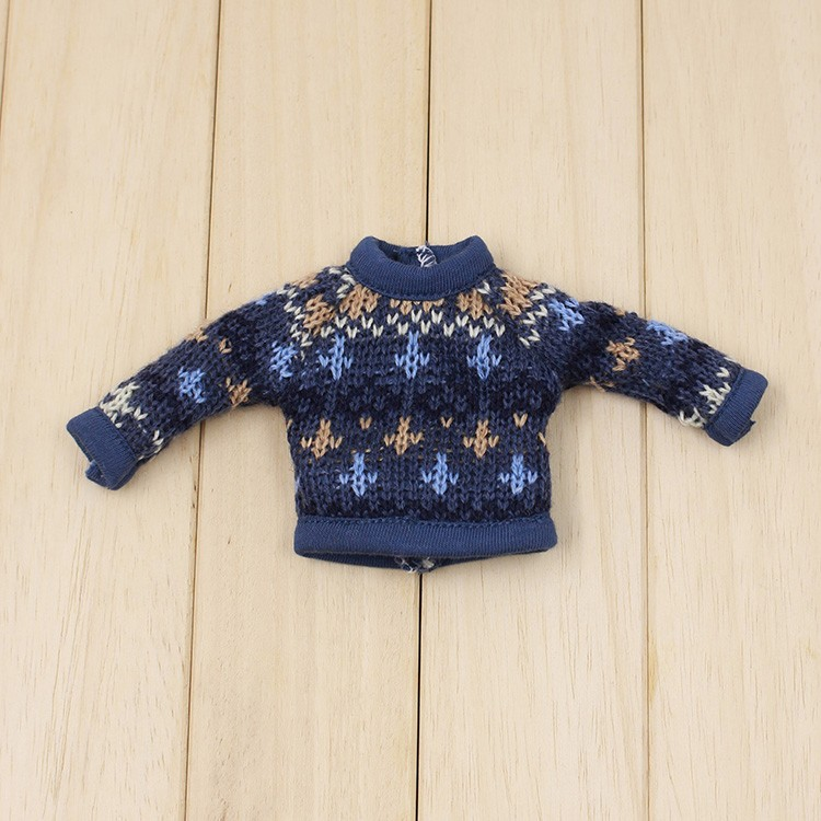 Neo Blythe Doll Colorful Sweater 6