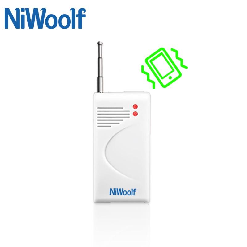Vibration / Shaking Detector For GSM Alarm System Vibration Sensor 433MHz Work Frequency