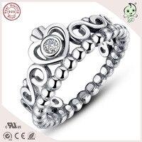 Beste Verkauf Und Hohe Qualität Persönlichkeit Krone Design Retro S925 Sterling Silber PartyToe Ring