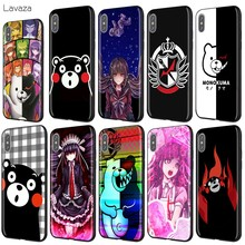Lavaza Kumamon Danganronpa Monokuma caso para iPhone 11 Pro XS Max XR 8X8 7 6 6S Plus 5 5S se(China)