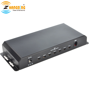 Image 3 - Gigabit Power Over Ethernet PoE Switch 7 PoE port +1 UPlink  Port For CCTV IP Camera WiFi Access point 24V 48V