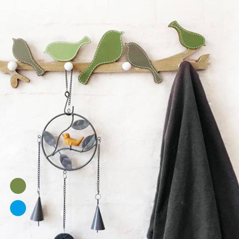 Online Shop Nordic creatieve vogel opknoping haak deur entree ...