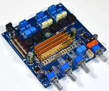 TPA3116 بلوتوث 4.2 مضخم رقمي الصوت مجلس 2.1 جهاز تضخيم الصوت 50 + 50 واط + 100 واط باس HIFI لهجة المجلس