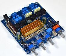 TPA3116 Bluetooth 4.2 오디오 디지털 앰프 보드 2.1 서브 우퍼 증폭기 50 + 50W + 100W 저음 HIFI 톤 보드