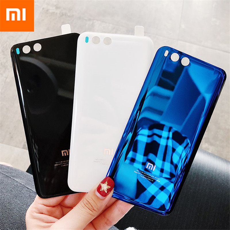 Image 2 - MI6 100% Original 3D Glass Rear Housing Cover For XIAOMI MI 6 , Back Door Replacement Hard Battery Case,3Colors Stock Xiaom Mi6-in Fitted Cases from Cellphones & Telecommunications