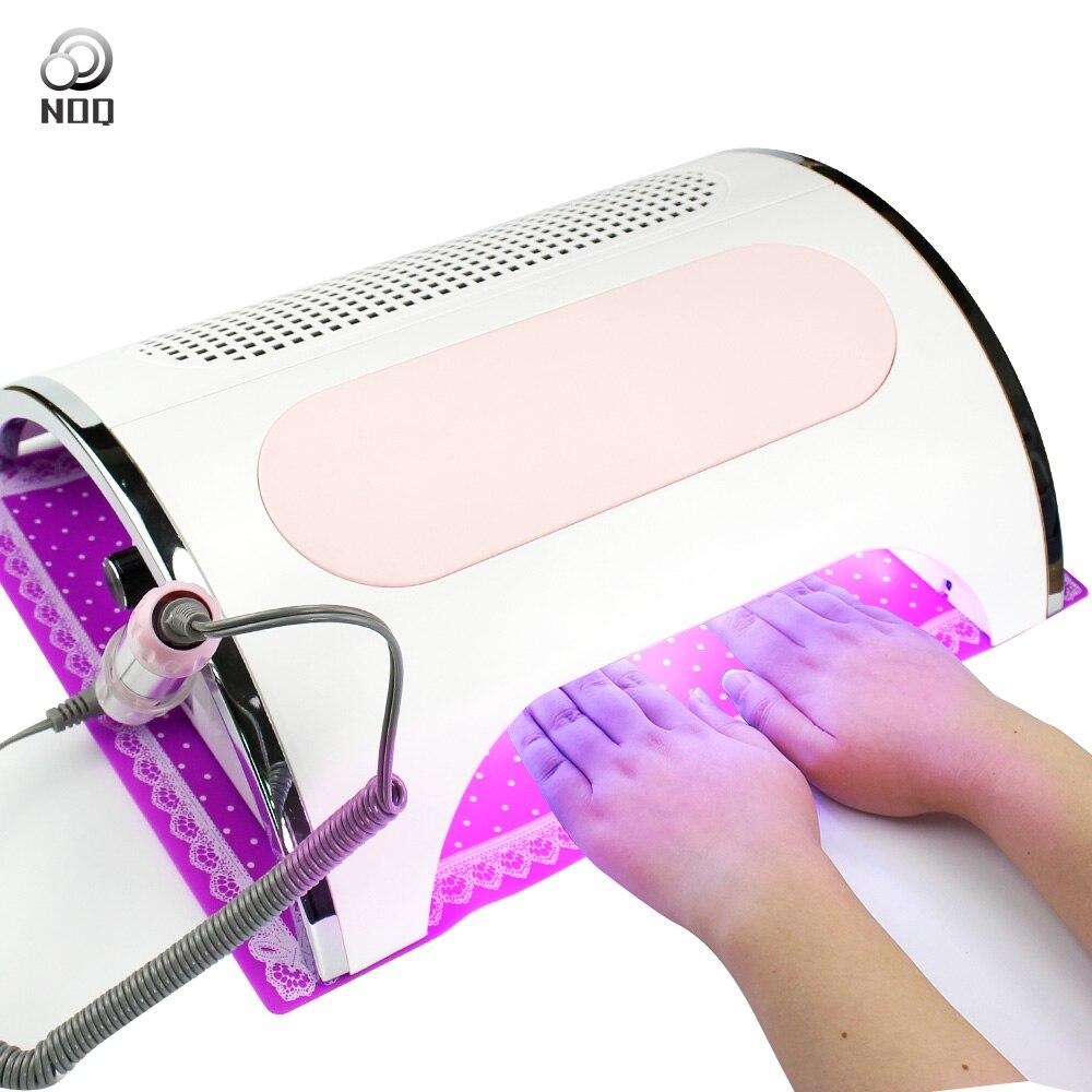 NOQ Collettore di Polveri Per Il Trapano 54W Professionale Aspirapolvere Per Manicure 36pcs LED HA CONDOTTO LA Lampada UV Per Le Unghie asciugacapelli Salon Macchina - 3
