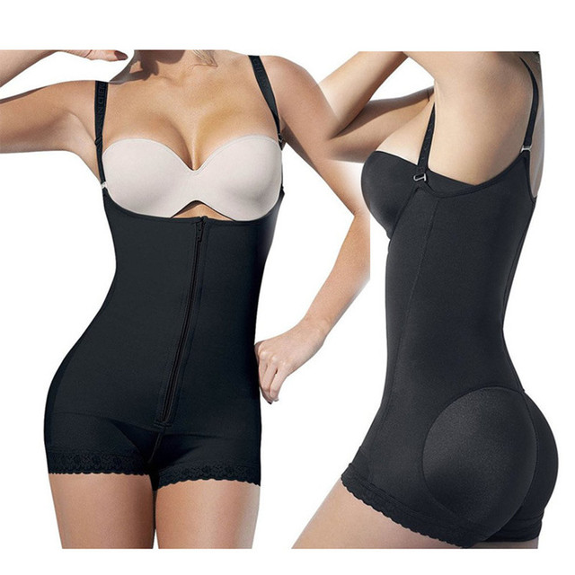 458803cf288 Butt Lifter Full Body Shapewear Lingerie Corset Push Up Bra Women Bodysuits  Modeling StrapTummy Control Body Shaper Dropship
