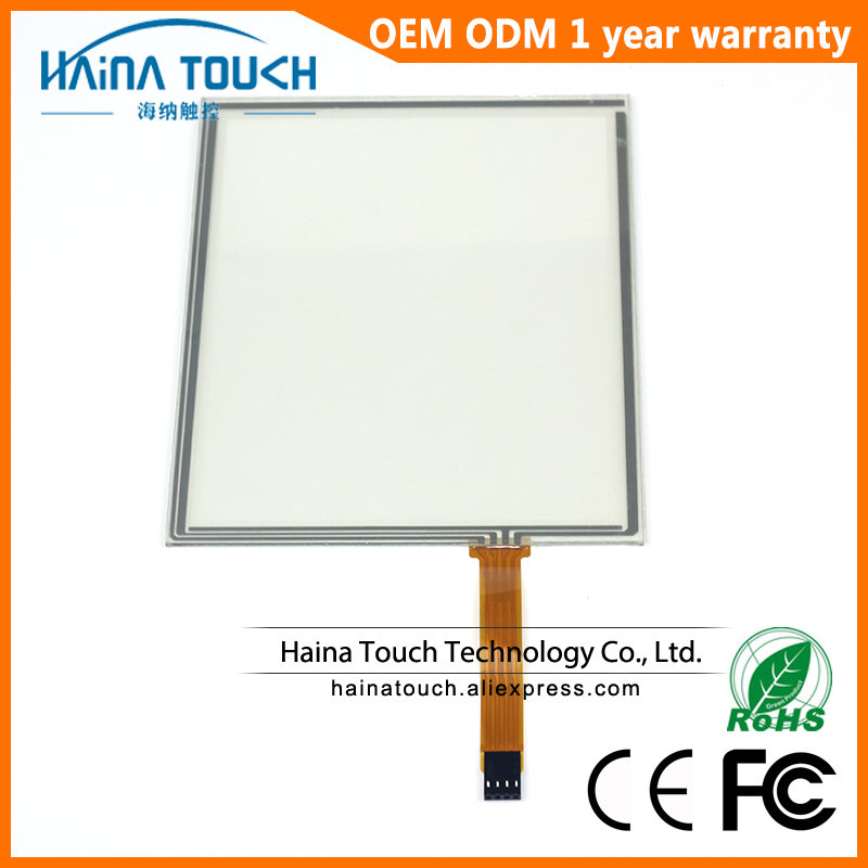 цена на Win10 Compatible 10 inch 4 Wire Resistive USB Touch Screen Panel 10 touch panel for Laptop / Industrial equipment